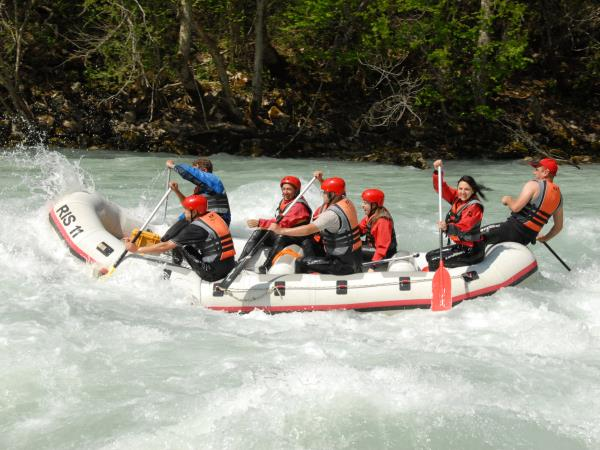 Montenegro river rafting holiday
