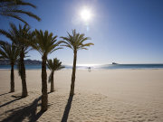 Beach at Benidorm, Valencia. Photo by Valencia Tourist Board