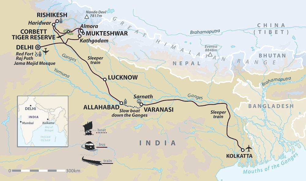 India Ganges Tour