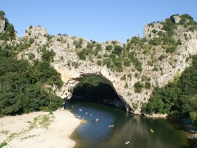 Ardeche short break activity holiday