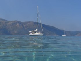 Wildlife photography sailing holiday in Greece