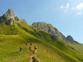 French Alps guided walking holidays