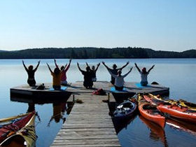 Quest for Balance Yoga and Sea Kayaking retreats are a favourite.