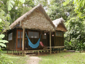 Chalalan ecolodge in Bolivia, Madidi National Park