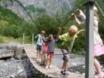 French Alps family adventure holiday