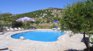 Self catering with a pool accommodation