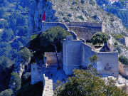 Xativa castle by day, Valencia. Photo by Valencia Tourist Board
