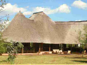 Safari lodge in Zambia