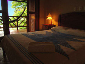 Ilha Grande ecolodge accommodation, Brazil