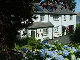Boscastle bed & breakfast, Cornwall, England