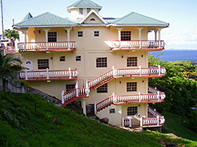 Bed & breakfast accommodation on St. Vincent