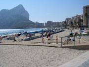 Calpe beach.jpg, Valencia. Photo by Lisa Joanes
