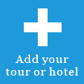 Add your tour or hotel
