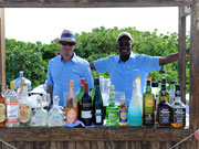 Drinks bar, Cayman Islands. Photo by Cayman Islands Tourist Board