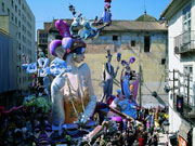 Falla festival, Valencia. Photo by Valencia Tourist Board