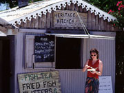 Fish shack, Cayman Islands. Photo by Cayman Islands Tourist Board
