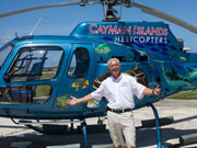 Helicopter rides, Cayman Islands. Photo by Cayman Islands Tourist Board
