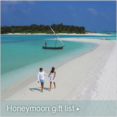 Honeymoon gift list