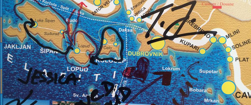 kayaking map