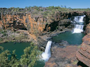 Mitchell Falls in Western Australia. Photo by Tourism Western Australia