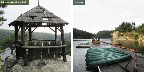 Minnewaska State Park and Mohonk, New York State. Photos by Catherine Mack