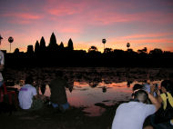 Sunrise at Angkor Wat, Holiday in Cambodia review