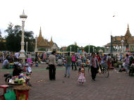 Markets, Holiday in Cambodia