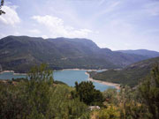Requena resevoir of Buseo, Valencia. Photo by Nick Haslam