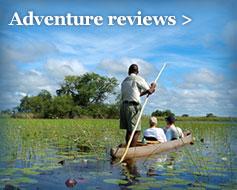 Adventure reviews