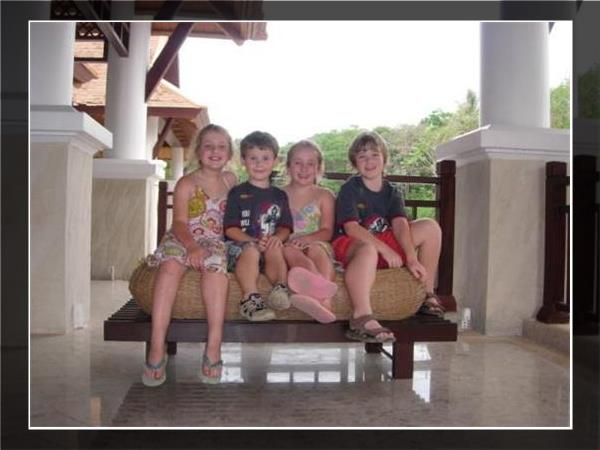 Thailand family holiday