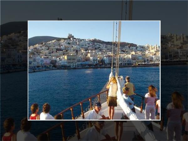 Greek Islands cycling and sailing holiday