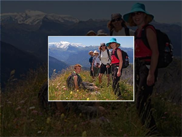 Guided walking holidays in the French Alps
