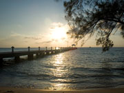 Sunset at Rum Point, Cayman Islands. Photo by Cayman Islands Tourist Board
