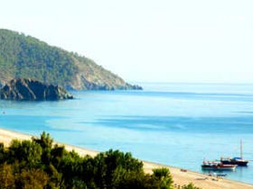 Beach holiday in Cirali, Turkey
