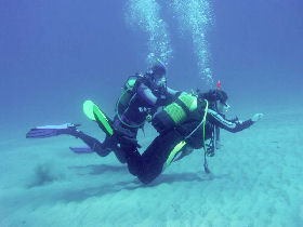 Sardinia diving holidays, Italy