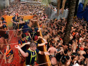 Tomatina festival, Valencia. Photo by Valencia Tourist Board
